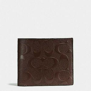 Nwt Coach 3 N 1 Mens Wallet